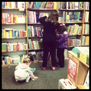 I <3 that they get excited about books.