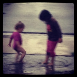 Splashing!!