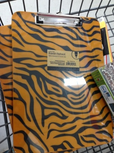 check out these awesome clipboards for your favorite Tiger Teacher!! :)