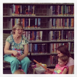 Toddler Time at the Library