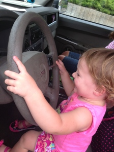 So she decided to take over driving