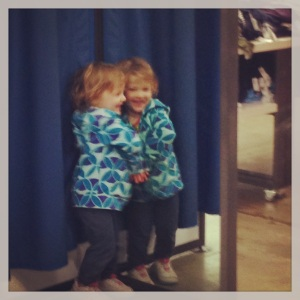 Seeing Double at Old Navy