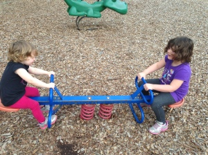 Trips to the park!