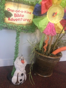 Olaf enjoying VBS