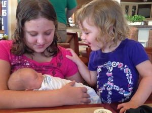 so excited over their new cousin