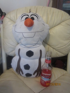 Even Olaf needs to relax!