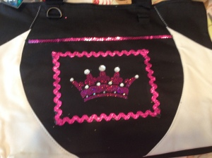 A carry on bag fit for a princess!