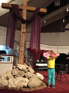 Jillian gave her heart to Jesus tonight!